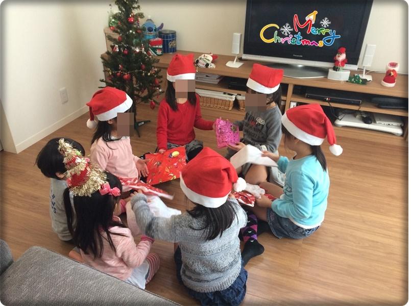 クリスマスパーティープレゼント交換
