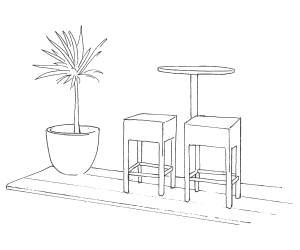 Home Bar Set