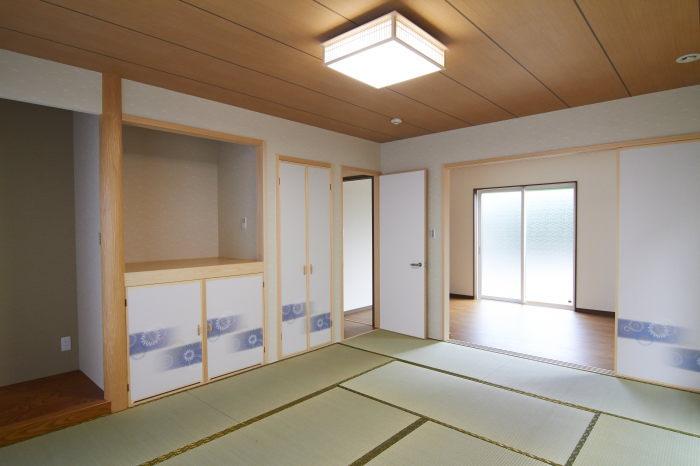 和室とお母様のお部屋