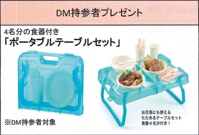 DM持参プレゼント
