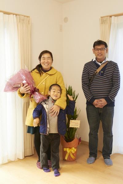 奈良市Y様ご家族
