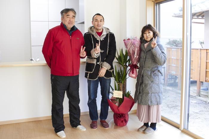 奈良市I様ご家族