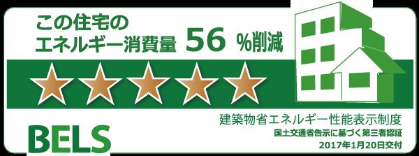 最高評価5つ星