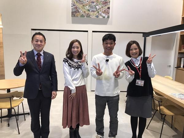 奈良テレビ取材の様子2