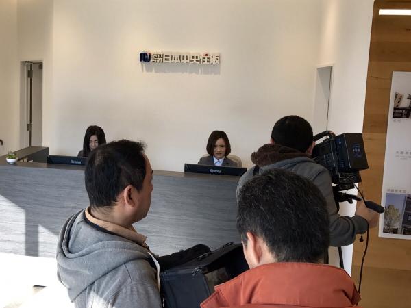 奈良テレビ取材の様子3