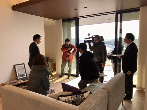 奈良テレビ取材の様子4