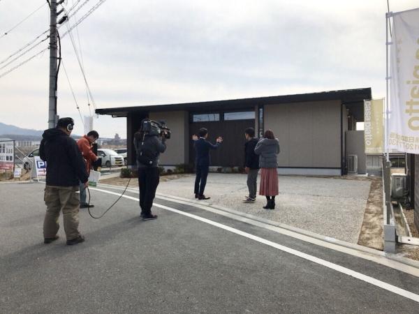奈良テレビ取材の様子6